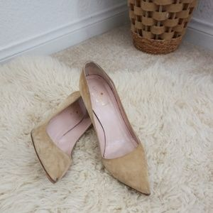 kate spade Licorice nude pointed toe Pump